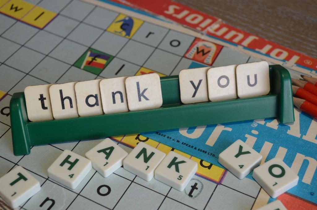 Red Pencil thank you image by Alec Leggat